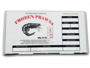 Generic Prawn Cartons & Seafood Cartons