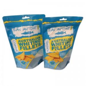 Plastic Cutsom Seafood Pouches
